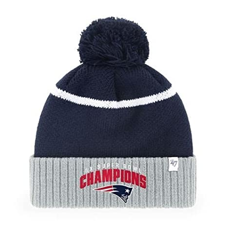 86b1bd31 Amazon.com : New England Patriots 5 Time Super Bowl Champions Pom ...