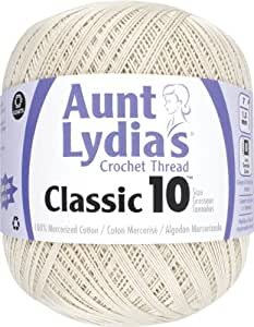 Aunt Lydia 151.0226 Value Crochet Cotton, Natural