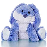 Sootheze Romeo Bunny Rabbit Aromatherapy Scented Stuffed Animal Sensory toy - Therapeutic Heat Pad for Menstrual Cramp Relief - Microwavable Heating Pad-Hot Cold Therapy Weighted Pad for Pain Relief