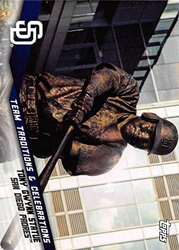 - 2019 Topps Opening Day Team Traditions and Celebrations Baseball #TTC-TGS Tony Gwynn Statue San Diego Padres Official MLB Trading Card