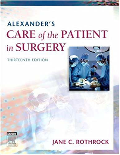 Patient ebook surgery of in care alexanders the