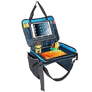 Towber-Bandeja-de-viaje-para-nios-pequeos-y-escolares-organizador-de-asiento-trasero-de-coche-con-bolsillos-laterales-de-malla-grande-y-soporte-para-botella-de-agua