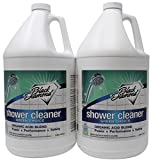 GREEN CHOICE Shower Tub Tile Glass Bathroom Cleaner- EPA Green Certified, Professional Strength, Removes Soap Scum Calcium and Hardwater Deposits.