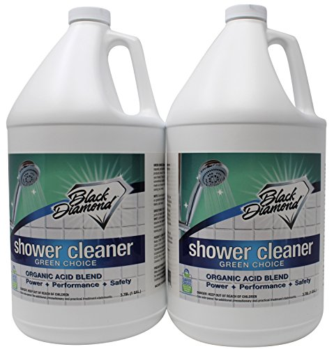 GREEN CHOICE Shower Tub Tile Glass Bathroom Cleaner- EPA Green Certified, Professional Strength, Removes Soap Scum Calcium and Hardwater Deposits. by Black Diamond Stoneworks (Image #3)