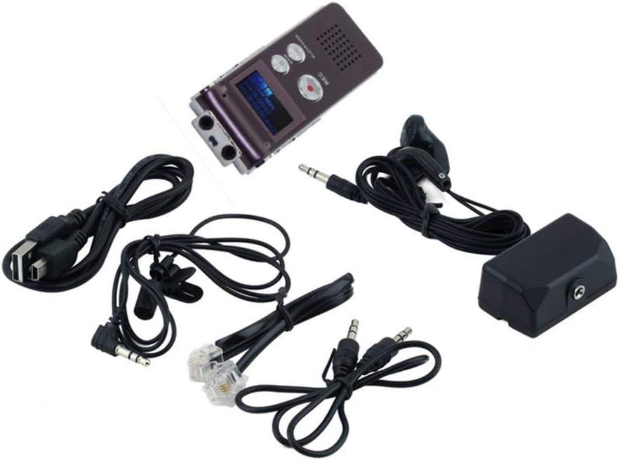 Yogasada Grabadora de Voz Digital de 8Gb Recargable Dictáfono ...