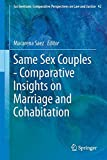 Same Sex Couples - Comparative Insights on Marriage and Cohabitation, Saez, Macarena, 9401797730