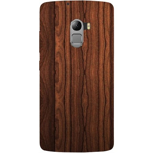 huge selection of f8bc0 836d8 Casotec Wooden Texture Design Hard Back Case Cover for Lenovo K4 Note
