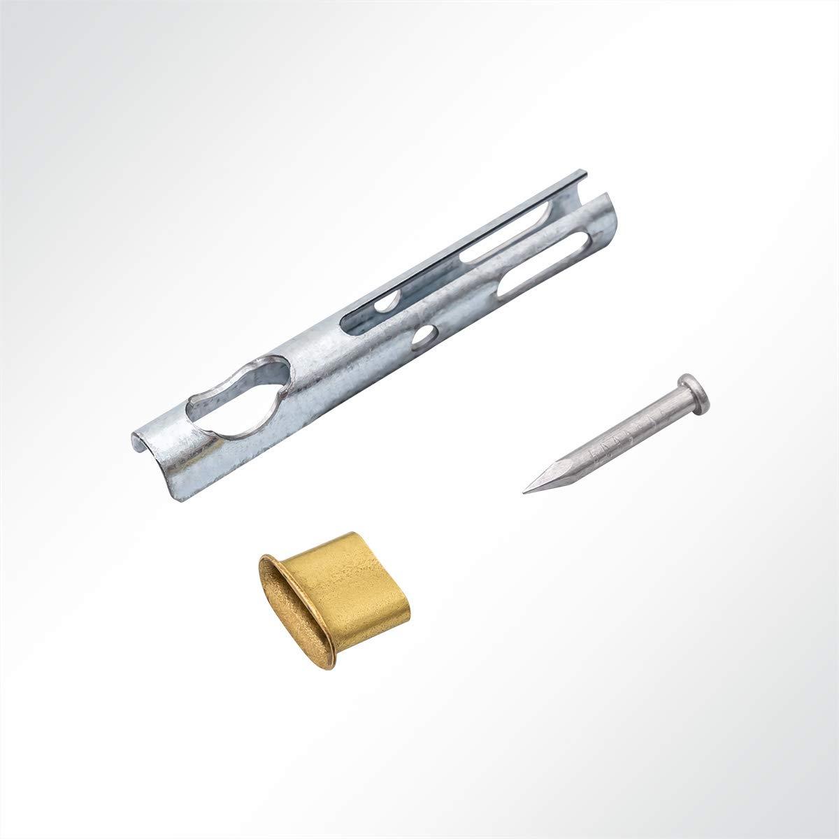 LYSEL/® Seilendverschluss nach Zollvorschrift TIR verzinkt f/ür 6mm Zollseil