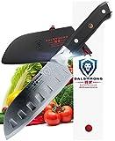 DALSTRONG Mini Santoku Knife - Shogun Series - 5'' - Japanese AUS-10V - Vacuum Heat Treated -w/Guard