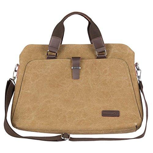 Mission 313 Laptop Messenger Bag Shoulder Strap and Tote Bag Men/Women 15.6