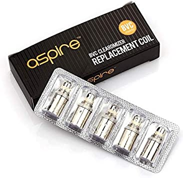 Pack de 5 resistencias Spryte 1.2 ohm Aspire: Amazon.es: Salud y ...