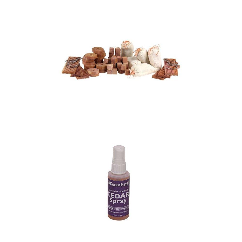 Household Essentials Cedar Value Pack & Spray Bundle