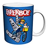 Midway Arcade Treasures Paperboy Classic Video Game Gamer Ceramic Gift Coffee (Tea, Cocoa) 11 Oz. Mug