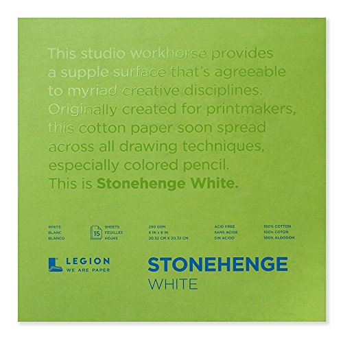 Legion Paper Stonehenge Pad (L21-STP250WH88), 8 by for sale  Delivered anywhere in USA