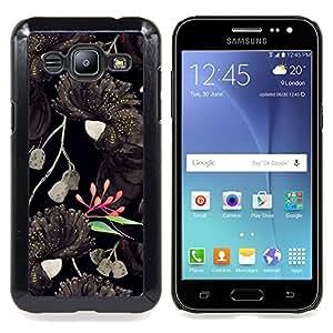 "Planetar ( Forest Lakes Nubes Árboles"" ) Samsung Galaxy J2 / J200 Fundas Cover Cubre Hard Case Cover"