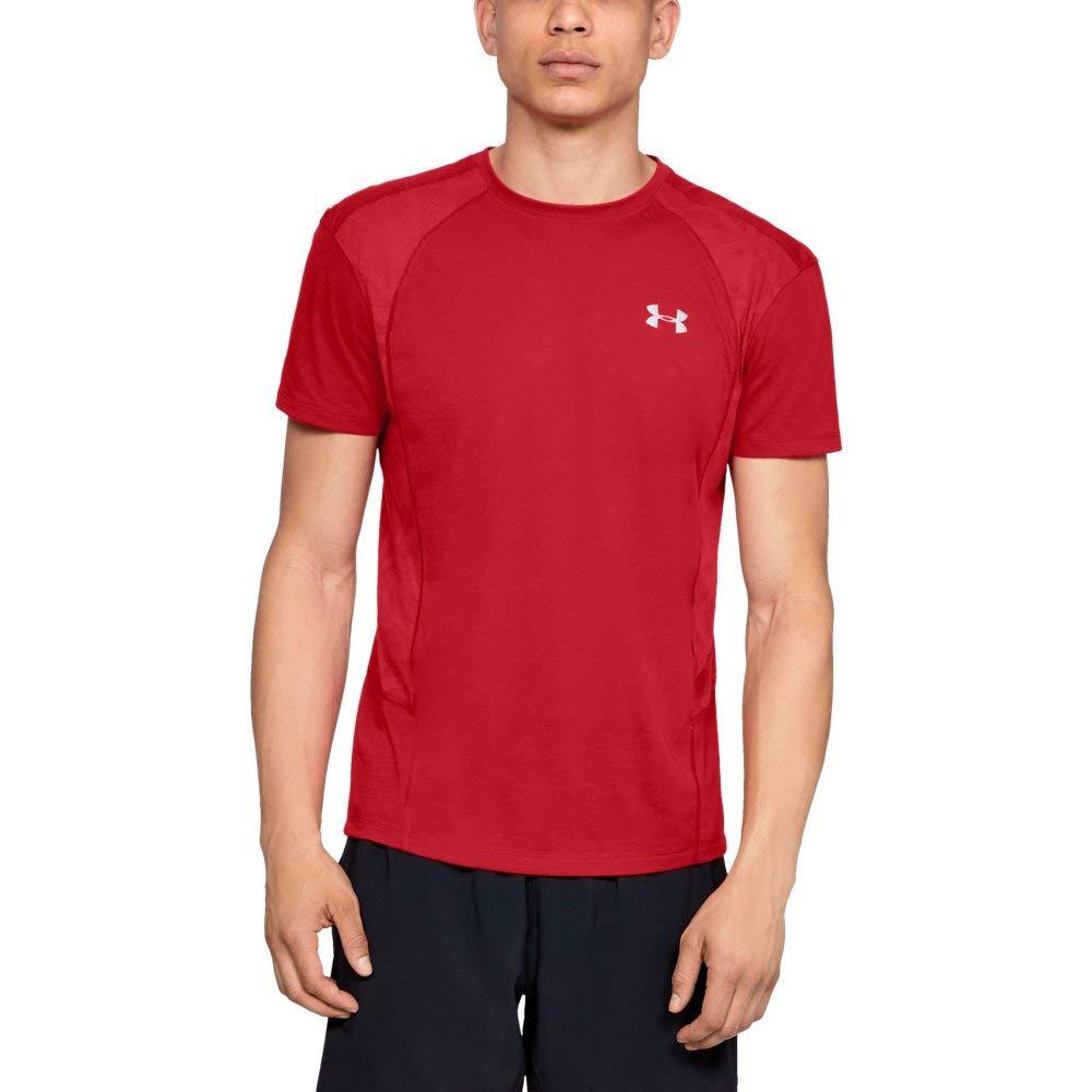 Under Armour Men's Swyft Short Sleeve Shirt, Pierce