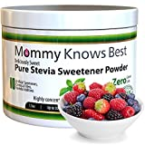 Pure Stevia Powder Extract Sweetener - 750 Servings - Zero Calorie Sugar Substitute - Completely Free of Artificial Ingredients