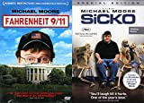 Thought Provoking, Funny, Head Scratching Michael Moore Double Feature: Sicko & Fahrenheit 9/11 2 DVD Bundle