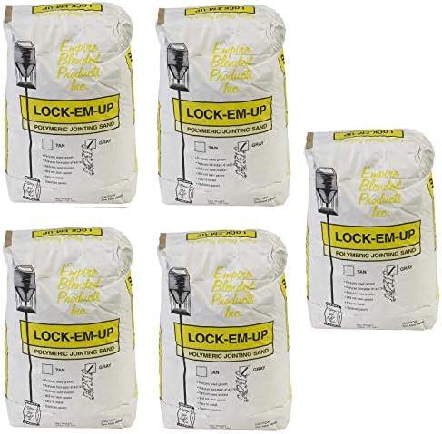 Tan Mutual Industries 7016-0-0 Lock-EM-Up Paver Sand