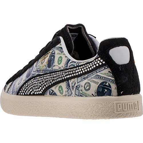 Conception innovante 13513 c0ec6 PUMA Clyde X Mita Mens Black Suede Lace Up Lace Up Sneakers - Import It All