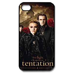 QSWHXN Customized Print The Twilight Saga Pattern Back Case for iPhone 4/4S