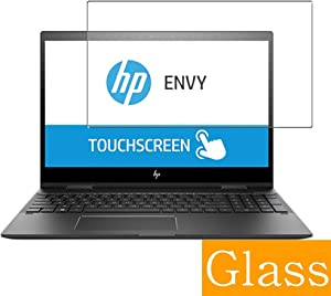 "Synvy Tempered Glass Screen Protector for HP Envy x360 15m-cp0000 / cp0011dx / cp0012dx 15.6"" Visible Area Protective Screen Film Protectors 9H Anti-Scratch Bubble Free"