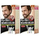 Bigen Men's Beard Color, Dark Brown B103 (20g+20g) (Pack Of 2)