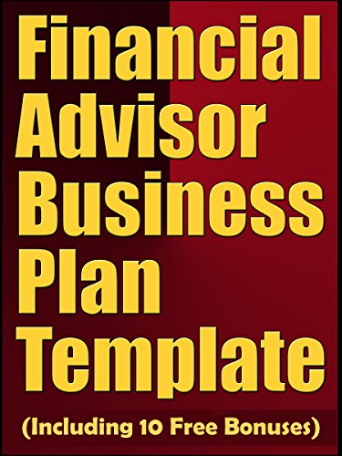 Financial Advisor Business Plan Template Including 10 Free Bonuses By Expert