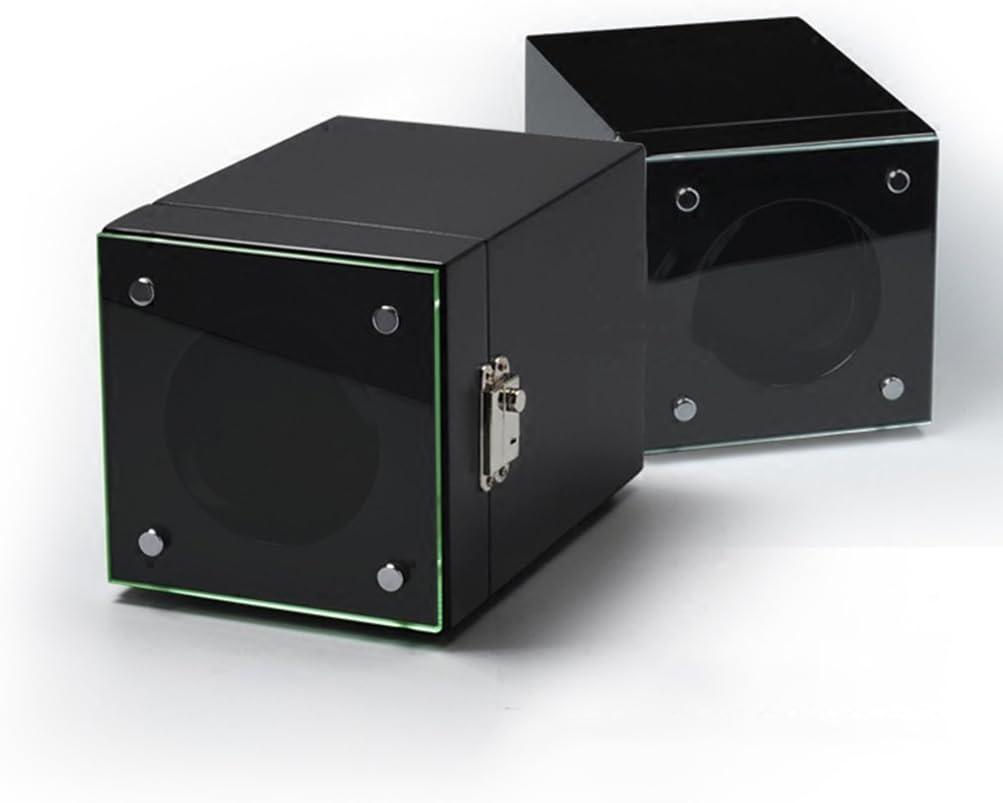 Yxx max uhrenbeweger fur automatikuhren Uhr Winder Boxen Automatische mechanische Uhrenbox Automatische Uhr Wickelbox Rotierende Uhr Vollautomatische Uhrenbeweger (Farbe : B) B