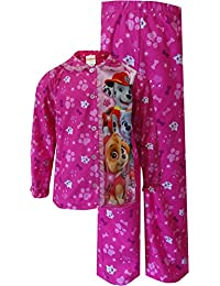 "Paw Patrol Little Girls' Toddler ""Glittery Bones"" 2-Piece Pajamas"