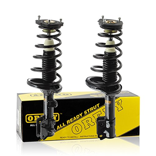 OREDY Rear Pair Complete Struts Assembly Shock Coil Spring Assembly Kit 172221 172222 15511 15512 Compatible with 2005 2006 2007 2008 2009 2010 Sportage 2005 2006 2007 2008 2009 Tucson