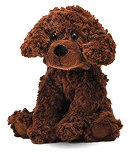 Brown Plush Dog (The Petting Zoo Posh Plush 11