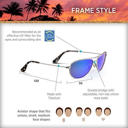 f36786f0f9a Maui Jim Baby Beach B245-17 | Sunglasses, Blue Hawaii, with - Import It All