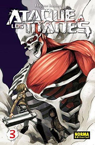 Ataque A Los Titanes 3 (Cómic Manga) Tapa blanda – 25 ene 2013 Hajime Isayama Norma Editorial 8467910992 Graphic novels: Manga