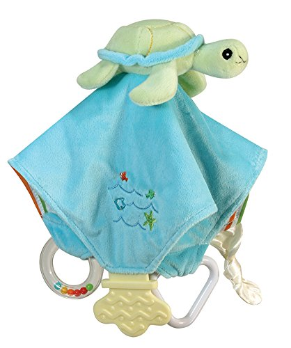 Stephan Baby Go Fish Plush Chewbie Activity Toy and Teething
