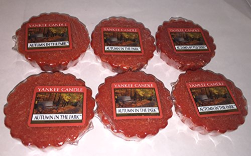 Yankee Candle Lot of 6 Autumn in the Park Tarts Wax Melts