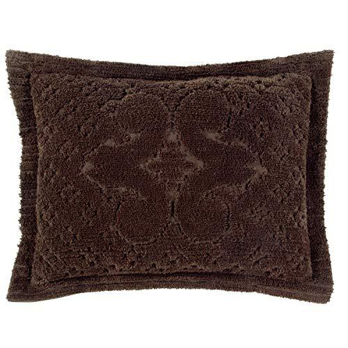 """Better Trends Ashton Chenille Standard Pillow Sham 21/""""x27/"""" Sage"""