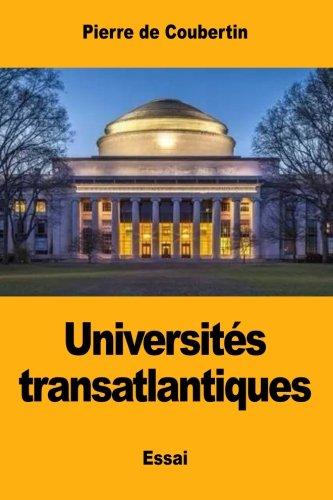Universités transatlantiques (French Edition)