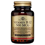 Solgar – Vitamin B12, 500 mcg, 100 Vegetable Capsules Review