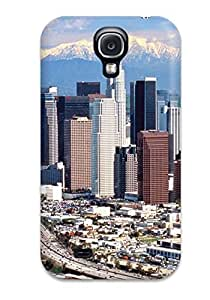 New Style Case Cover XwmpYsJ5948jKKNY Los Angeles City Compatible With Galaxy S4 Protection Case