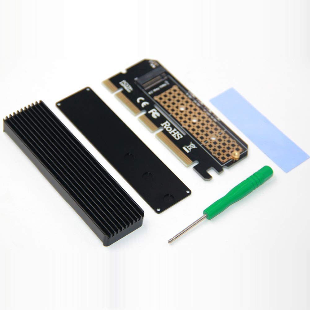 M.2/Nvme SSD NGFF to PCIe 3.0/x16/adattatore m chiave scheda di interfaccia Suppor PCI Express 3.0/X4/2230/ /2280/Dimensioni M.2/Full Speed expansion card