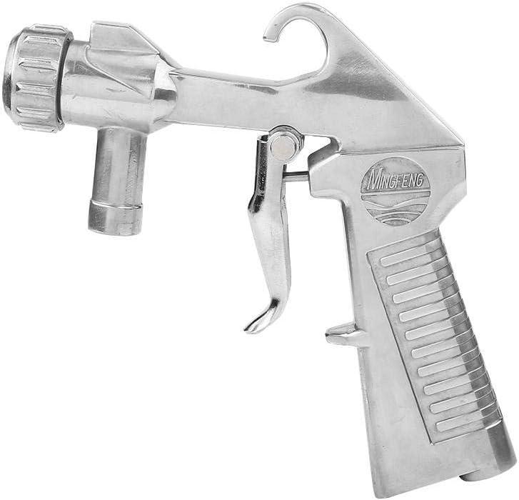 Grain sandblasting HONG111 Remove Rusty sandblasting Jet Gun Silver 4 Nozzle for Fencing car