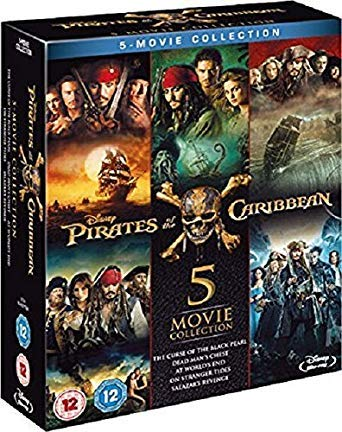 Pirates of the Caribbean - Complete Collection [Blu-ray] (Pirates Of The Caribbean 5 Blu Ray)