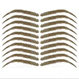 vegetable dye for eyebrows - Cardani Eyebrow Tattoos #17 - Classic Shape Temporary Tattoo Eyebrows #17 Walnut Brown Tattoo
