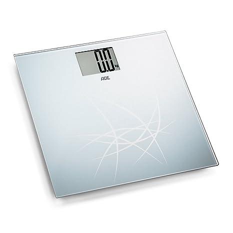 ADE Báscula personal digital BE1305 Lotta. Electrónica, en cristal de seguridad. Capacidad 180