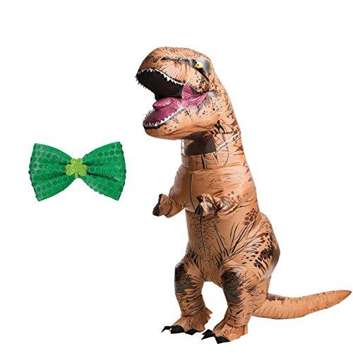 Inflatable T-Rex Adult Costume - Cape Bundle ()