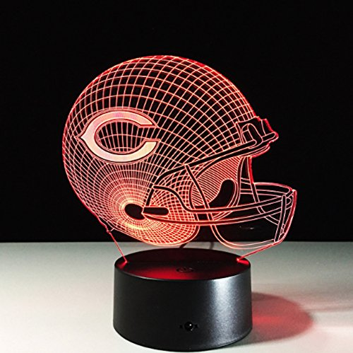 Football Helmet Light - Touch Control Football Helmet