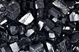 Fantasia Materials: 18 lbs Premium Grade Black Tourmaline Rods from China - 3/4'' to 1.25'' avg - Raw Rough Rocks and Stones, Crystals for Cabbing, Tumbling, Polishing, Wire Wrapping, Wicca & Reiki