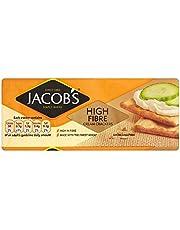 Jacob's High Fibre Cream Crackers (200g) - Pack of 6