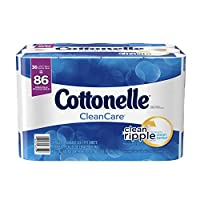 Cottonelle CleanCare Family Roll Toilet Paper, Bath Tissue, 36 Rolls